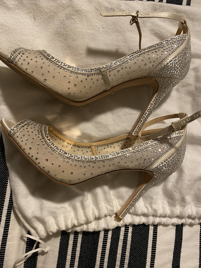 Dazzling Wedding Shoe