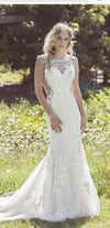 Lillian West Mermaid Gown