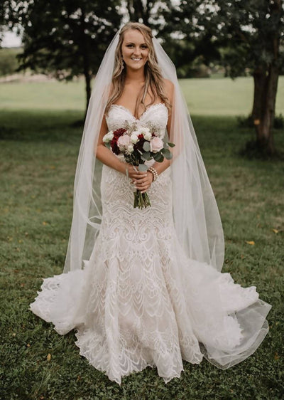 Gorgeous Couture Wedding Gown