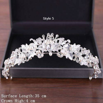 Crystal Crown Wedding Tiara's