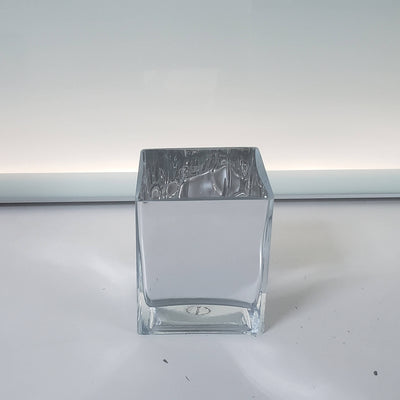 Silver Glass Centerpiece/Vase