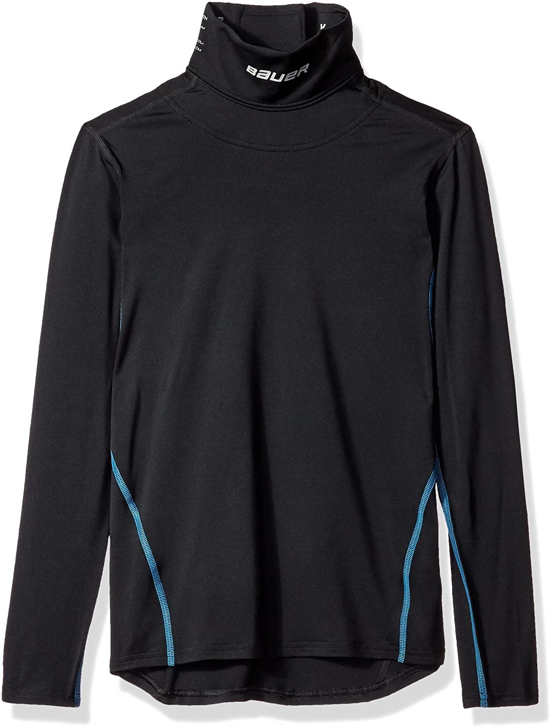 Bauer JuniorCore Integrated Neck Guard Long Sleeve Top