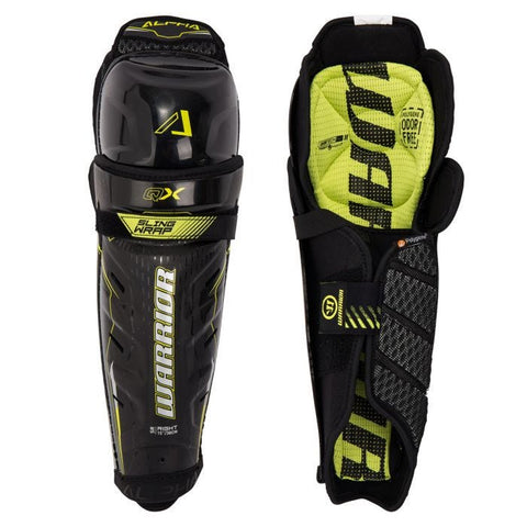 Warrior Alpha QX Senior Hockey Shin Guards