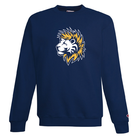 Champion Hockey Lion Crew Neck Sweater