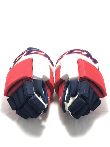 "CCM MHGSTJC.PZ Washington Capitals 14"" Hockey Glove - Carl Hagelin"
