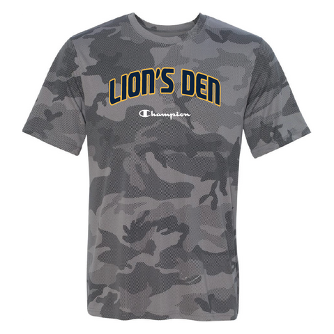 Champion Lion's Den Athletics Camo Dri-Fit Tee