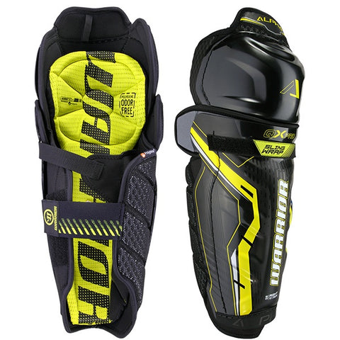 Warrior Alpha QX pro Senior Shin Guards