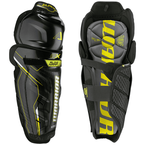 Warrior Alpha QX Junior Hockey Shin Guards