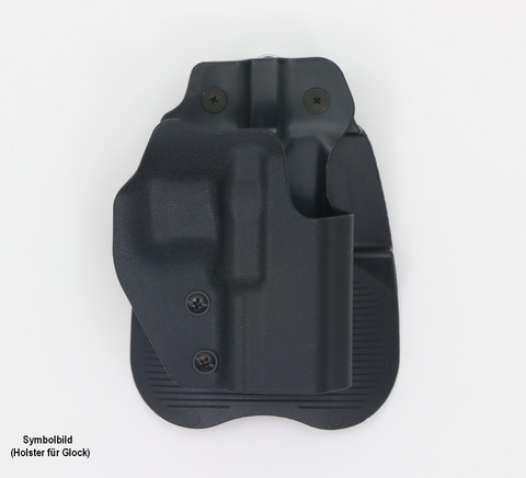 Frontline Open Top Polymer Paddle Holster  Swiss Tactical Center - Swiss Tactical Center