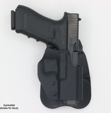 Frontline Open Top Polymer Paddle Holster-Swiss Tactical Center-Swiss Tactical Center