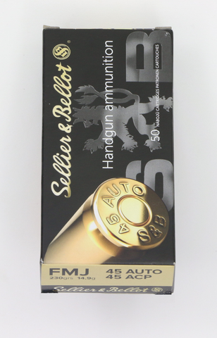 Sellier&Bellot .45 ACP FMJ-Swiss Tactical Center-Swiss Tactical Center