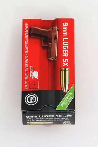 Geco 9mm Luger SX FMJ-Swiss Tactical Center-Swiss Tactical Center