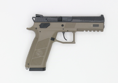 CZ 75 P-09 Flat Dark Earth-Swiss Tactical Center-Swiss Tactical Center