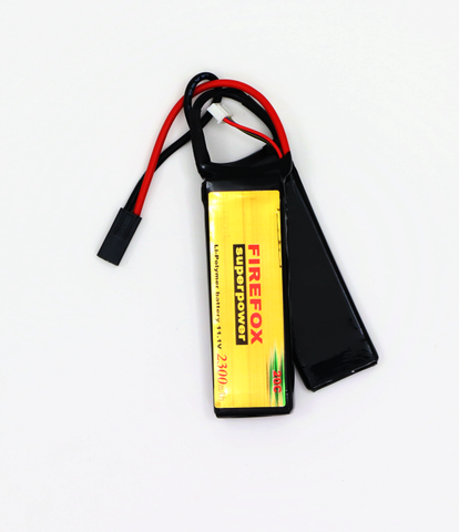 Firefox Li-Po 11.1V 2300mAh 20C small type  Swiss Tactical Center - Swiss Tactical Center