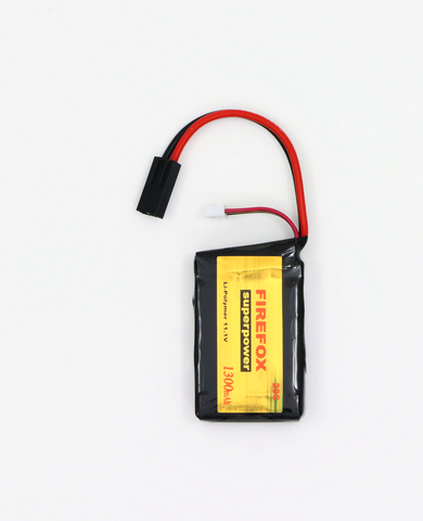 Firefox Li-Po 11.1V 1300mAh 20C small type-Swiss Tactical Center-Swiss Tactical Center