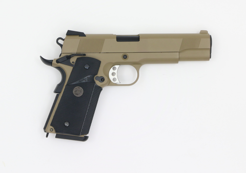 WE M1911 MEU Tan GBB-Swiss Tactical Center-Swiss Tactical Center