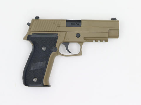 WE P226 MK25 Tan GBB-Swiss Tactical Center-Swiss Tactical Center
