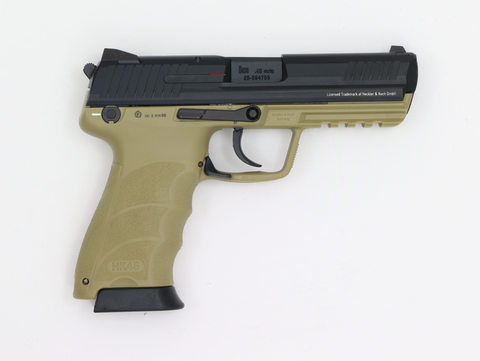 KWA HK 45 Tan GBB-Swiss Tactical Center-Swiss Tactical Center
