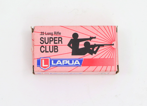 Lapua .22lr Super Club-Swiss Tactical Center-Swiss Tactical Center