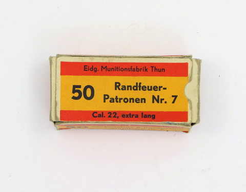 Randfeuerpatronen Nr. 7 .22 extra lang-Swiss Tactical Center-Swiss Tactical Center