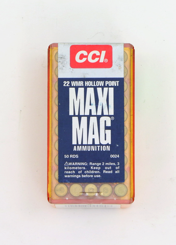 CCI .22 WMR Maxi Mag HP-Swiss Tactical Center-Swiss Tactical Center