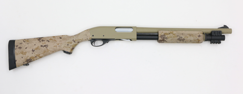 Maruzen Remington 870 Desert Camo Gas-Swiss Tactical Center-Swiss Tactical Center