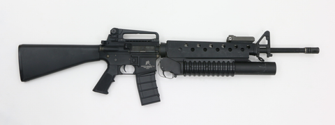 G&P M16A3 mit M203 Granatwerfer AEG-Swiss Tactical Center-Swiss Tactical Center