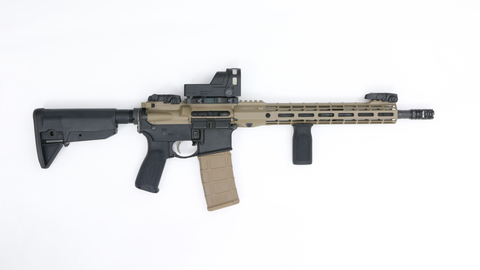 "Custom AR 15 14.5""-Swiss Tactical Center"