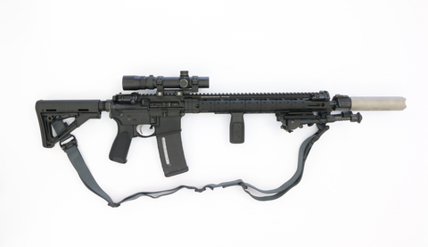 "Custom AR 15 16""-Swiss Tactical Center"