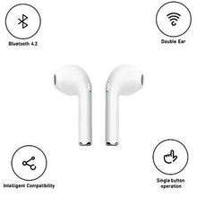 Bluetooth Wireless Earbuds, Stereo Earphone Cordless Headsets For iPhone Samsung