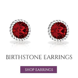 Birthstone Earrings UK