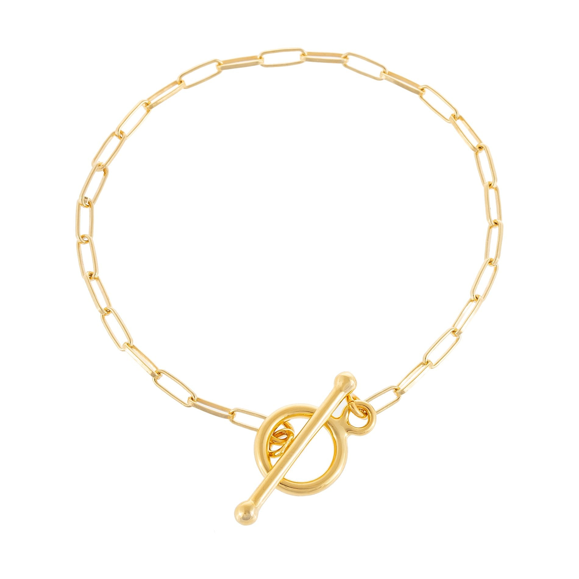 Chain Toggle Bracelet  | Urban Accessories NYC
