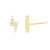 Lightning Bolt Stud Earrings  | Urban Accessories NYC