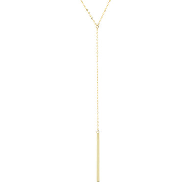 Gold Drop Necklace  | Urban Accessories NYC
