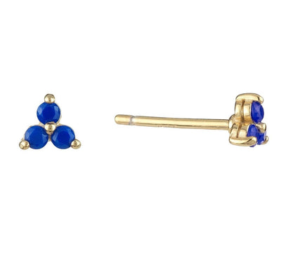 Colored Cluster Stud Earring  | Urban Accessories NYC