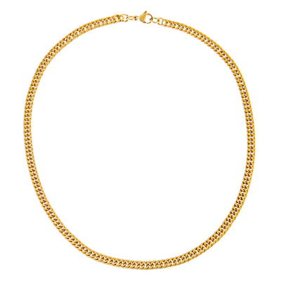 Double Curb Chain Necklace  | Urban Accessories NYC