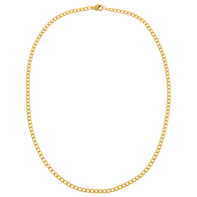 Thin Cuban Chain Necklace  | Urban Accessories NYC