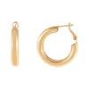 Large Hoop Earring Gold | Urban Accessories NYC