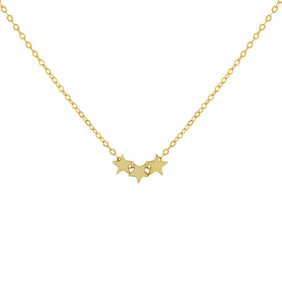 Triple Star Necklace  | Urban Accessories NYC