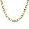 Thick Figaro Necklace Gold | Urban Accessories NYC