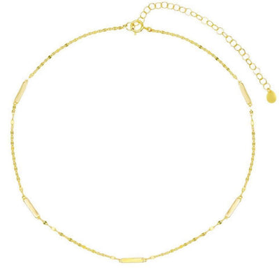 Chain Choker Necklace  | Urban Accessories NYC
