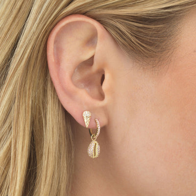 Ice Cream Cone Stud Earring  | Urban Accessories NYC