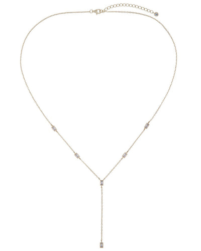 Baguette Lariat Necklace  | Urban Accessories NYC