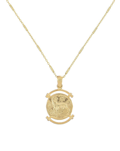 Greek Coin Necklace  | Urban Accessories NYC