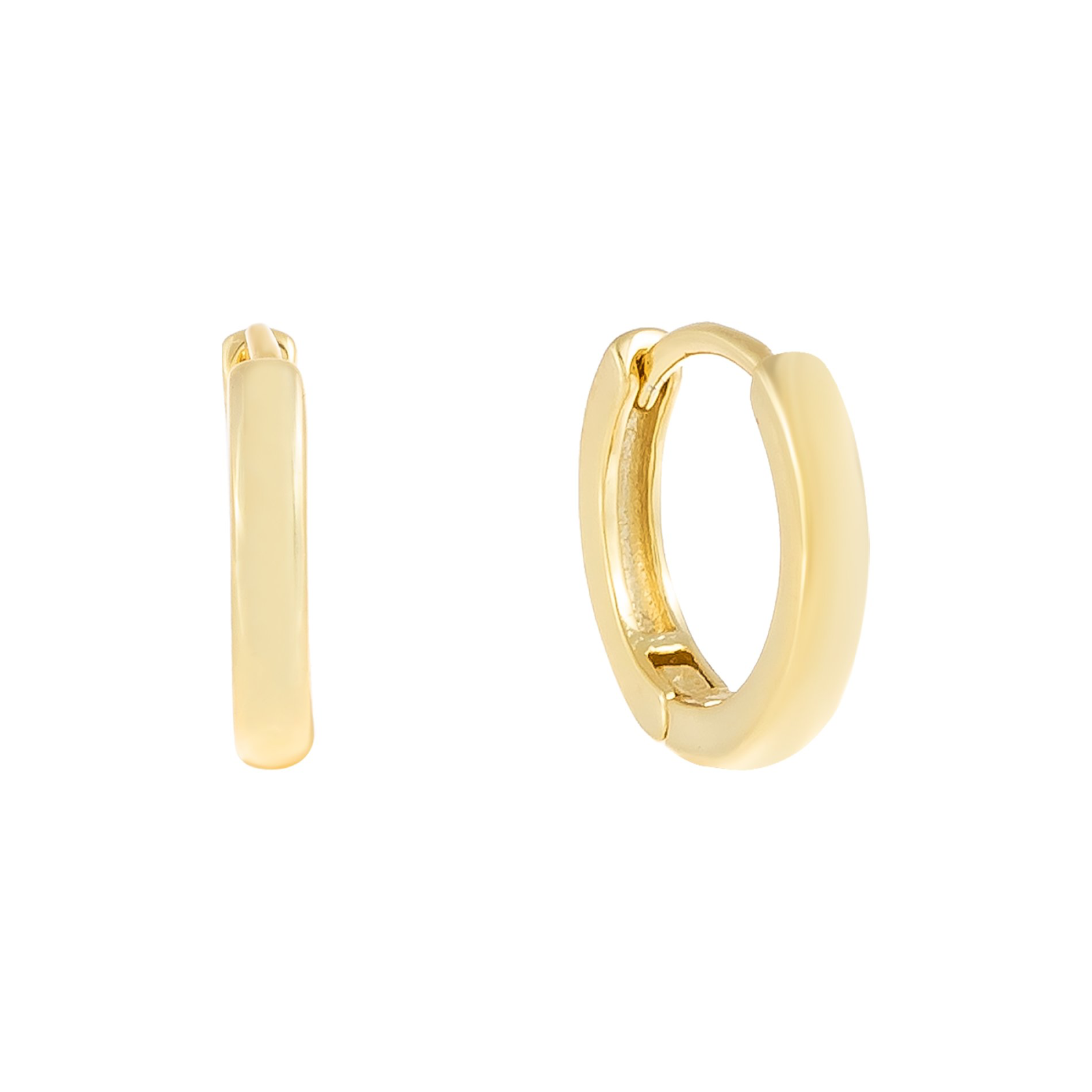 Solid Ring Huggie  | Urban Accessories NYC