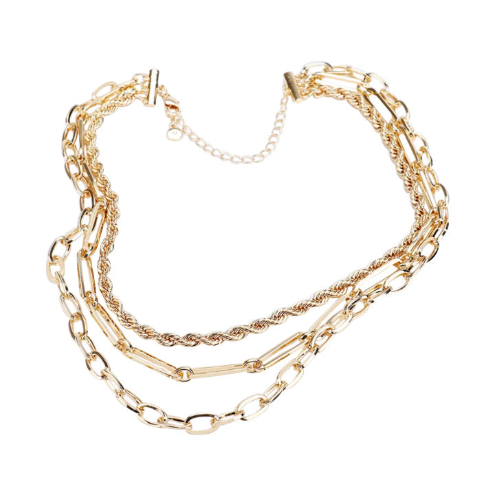 Gold Chains necklace  | Urban Accessories NYC
