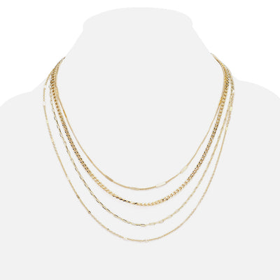 Gold Layered Necklaces For Women  | Urban Accessories NYC