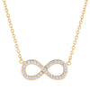 Gold Infinity Necklace  | Urban Accessories NYC