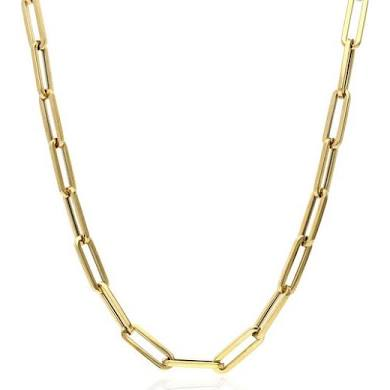 Gold Paper Clip Necklace for Women  | Urban Accessories NYC