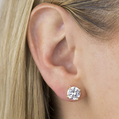 Solitaire Studs Earrings  | Urban Accessories NYC